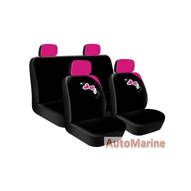 8 Piece Seat Cover Set