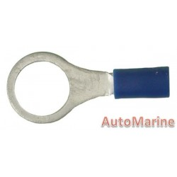 Blue Ring Terminal 10.5mm - 100 Pieces