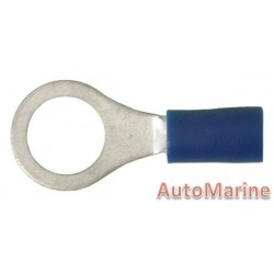 Blue Ring Terminal 8.4mm - 100 Pieces