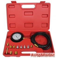 Engine Oil Pressure Tester with 11 Adaptors