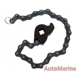 "Oil Filter Remover Chain Socket 1/2"" Drive"