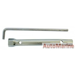 Plug Spanner Tube 16 and 21mm with Handle