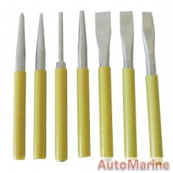 7 Piece Punch and Chisel Set