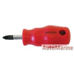 Pozi Screwdriver PZ2 6mm x 25mm