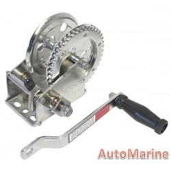 1200LB Hand Winch Stainless Steel