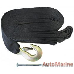 Winch Strap 12 meter x 60 mm - Max 1.8Ton