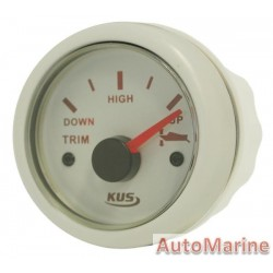 Trim Gauge - 52mm - White