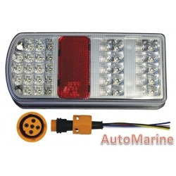 Left Hand LED Tail Lamp - 12 Volt