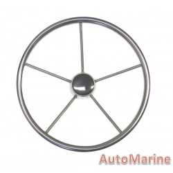 "Steering Wheel 15"" - 316 Stainless Steel"
