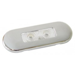 Universal Lamp 2 LED - Stainless Steel