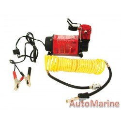 Heavy Duty Red Compressor - 12 Volt