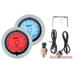 52mm Oil Pressure Gauge - LCD