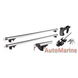 Aluminium Roof Rack that fits on Closed Roof Rails - 120cm Length