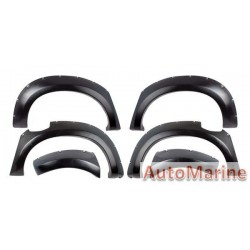 Fender Flare Set for Isuzu DMax 2012 - 2014