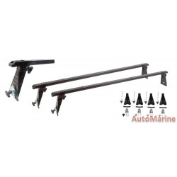 Standard Roof Bars with Gutter Mounting