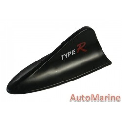 AERIAL IMITATION SHARKS FIN TYPE-R BLACK
