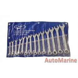 14 Piece Spanner Set (6mm to 19mm)