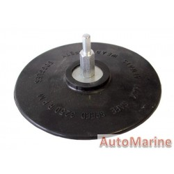 Rubber Spindle Pad 115mm