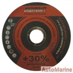 Stainless Steel Cutting Disc 115 x 1.2 x 22