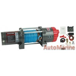 Runva 12 Volt - 4500lb (2043kg) - With Synthetic Rope