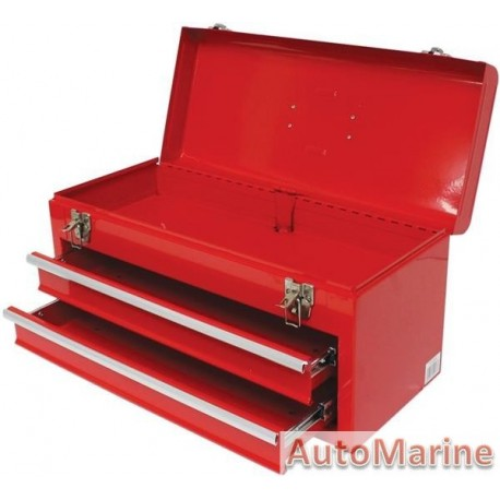 3 Level Toolbox with Sliding Trays
