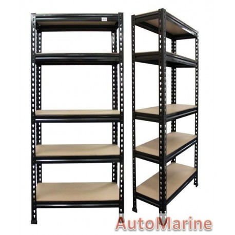 Steel Shelving - 5 Layers