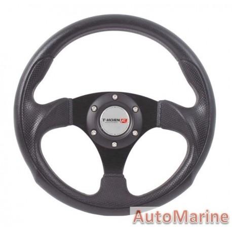 Steering Wheel - Polyeurathane - Black