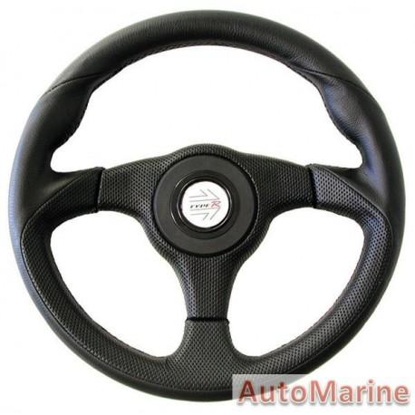 Steering Wheel - Black