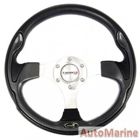 Steering Wheel - Polyeurathane - Carbon