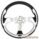 Steering Wheel - Polyeurathane - Grey