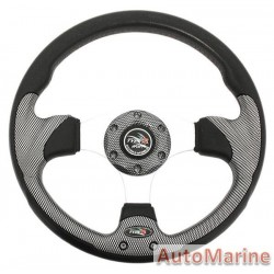 Steering Wheel - Polyeurathane - Carbon