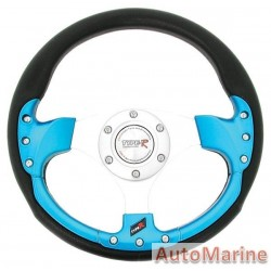 320mm Steering Wheel - Blue