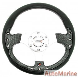 320mm Steering Wheel - Carbon