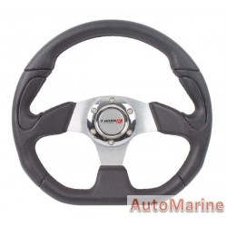 Steering Wheel - Chrome - 320mm