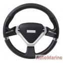 Steering Wheel - PVC - 320mm - Black