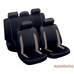 9 Piece Spa - Grey Seat Cover Set