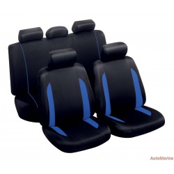 9 Piece Spa - Blue Seat Cover Set