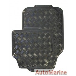 Black Car Mat Set