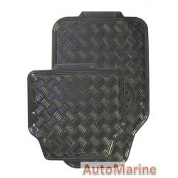 Black Car Mat Set