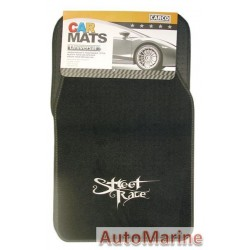 Car Carpet Set - 4 Piece - Street Race