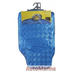 Car Mat Set - Blue