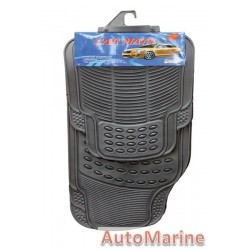 Rubber Car Mat - Black