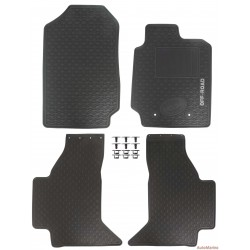 Ford Ranger - Rubber Mat Set - OEM Fit