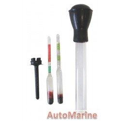 Hydrometer 2 in1 - Anti-Freeze and Battery