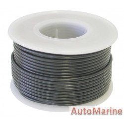 Cable Black 1.25mm - 30M Reel
