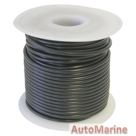 Cable Black 2.00mm - 30M Reel