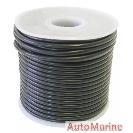 Cable Black 4.00mm - 30M Reel