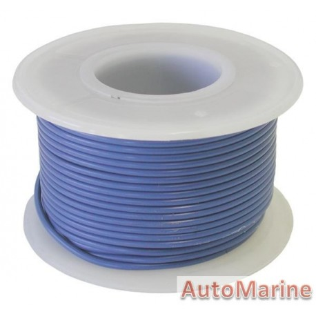 Cable Blue 0.80mm - 30M Reel