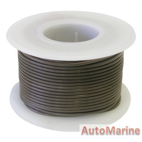 Cable Brown 0.80mm - 30M  Reel