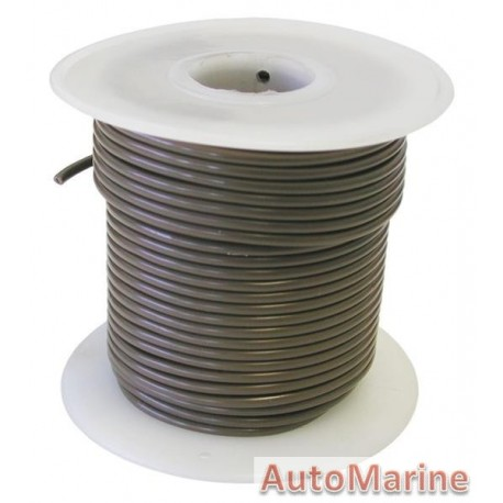 Cable Brown 2.00mm - 30M  Reel